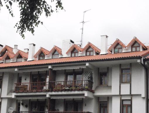 Albañilería Landetxa ha llevado a cabo la restauración de la fachada en la calle Ermita 30 de Irun